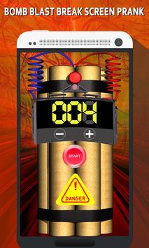 Time bomb blast Prank poster