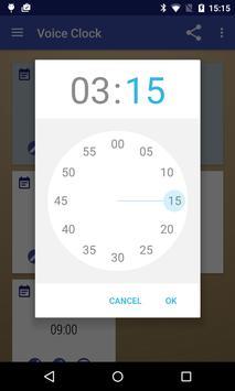 Voice Clock apk screenshot