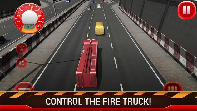 Fire Truck Racing screenshot 2