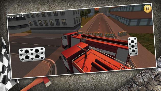 Fire Truck Racing screenshot 5