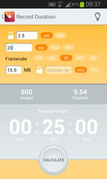 Timelapse Helper apk screenshot