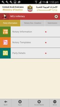 MOJ Smart Apps (UAE) poster