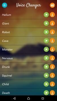 Voice Changer Pro screenshot 4