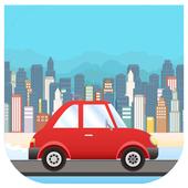 The Jumping Car ~ Escape City icon
