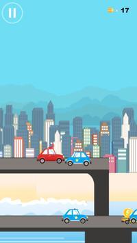 The Jumping Car ~ Escape City apk screenshot