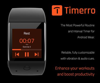 Timerro - Interval Timer apk screenshot