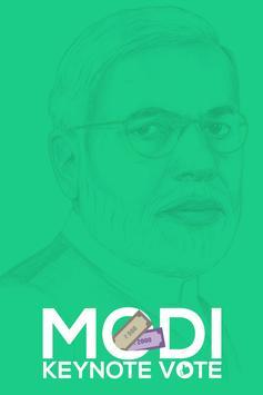 Modi Keynote Vote poster