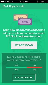 Modi Keynote Vote screenshot 1