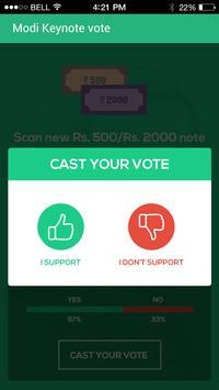 Modi Keynote Vote screenshot 2