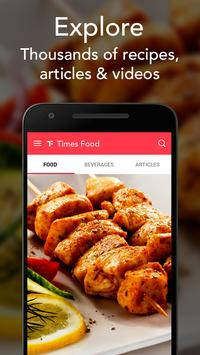 Times Food: Indian Recipes & Cooking, Celeb Chefs poster