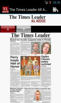 The Times Leader All Access apk screenshot