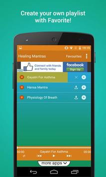 Healing Mantras apk screenshot