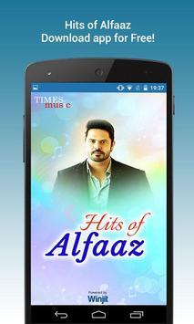 Hits of Alfaaz poster