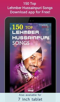 150 Top Lehmber Hussainpuri Songs screenshot 5