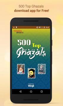 500 Top Ghazals poster