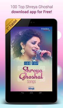 100 Top Shreya Ghoshal Songs apk screenshot