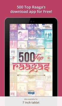 500 Top Raagas apk screenshot