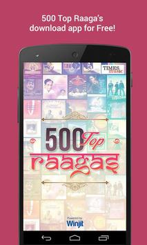 500 Top Raagas poster