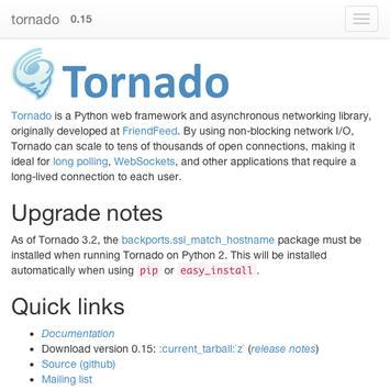 python tornado doc for Android - APK Download