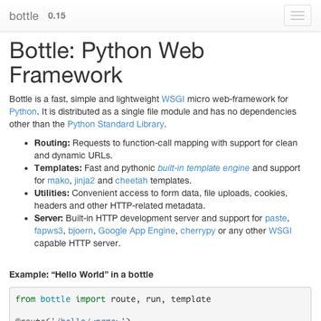 python bottle doc APK Download - Free Books & Reference APP for ...