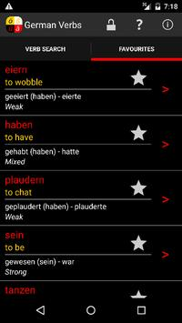 German Verbs screenshot 1