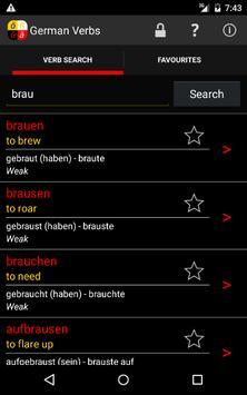 German Verbs screenshot 4
