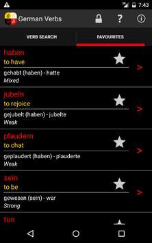 German Verbs screenshot 5