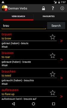 German Verbs screenshot 7