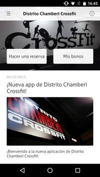 Distrito Chamberí Crossfit poster