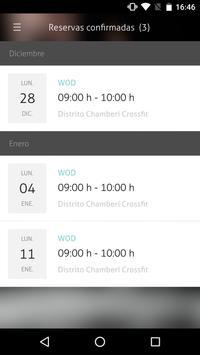 Distrito Chamberí Crossfit apk screenshot