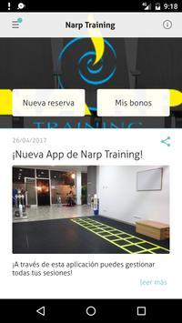 NARP Training poster
