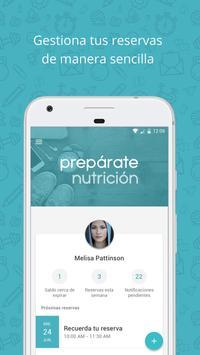 Prepárate Nutrición poster