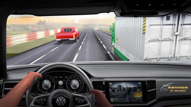 Driving in Traffic स्क्रीनशॉट 9
