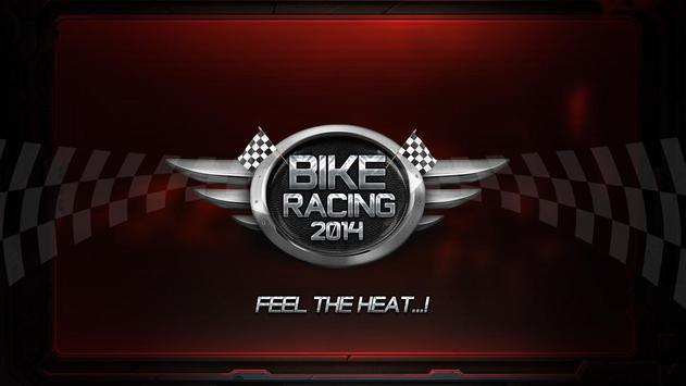 BIKE RACING 2014 poster