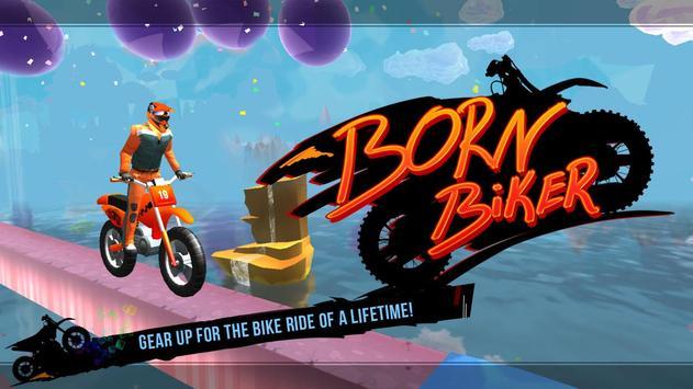 Born Biker poster