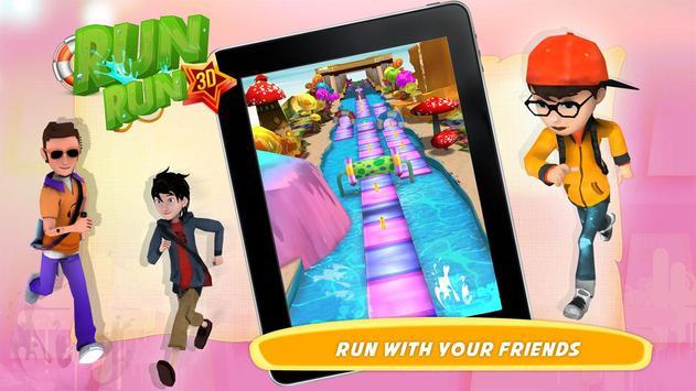 RUN RUN 3D screenshot 3