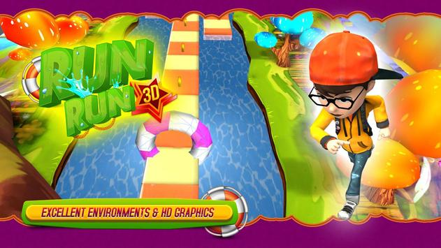 RUN RUN 3D screenshot 5