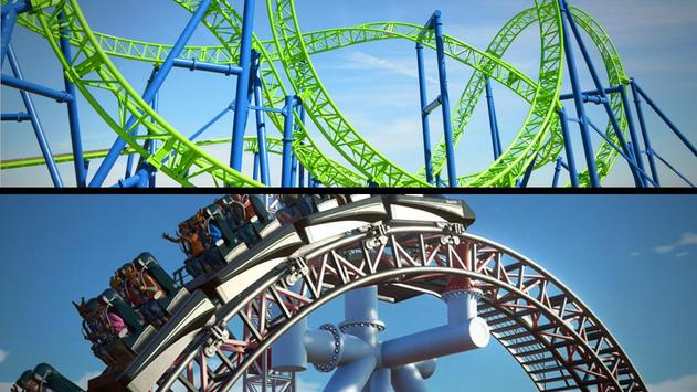 Roller Coaster 3D screenshot 16