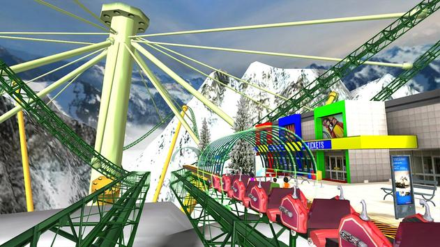 Roller Coaster 3D screenshot 2