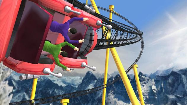Roller Coaster 3D screenshot 4