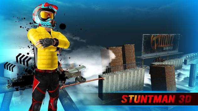 STUNTMAN 3D poster