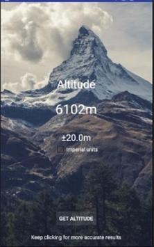 Altimeter apk screenshot