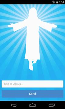 Text to Jesus: Free Prayer App poster