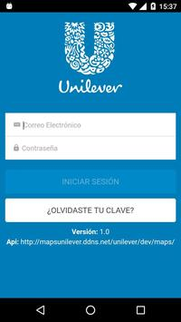 Mi Ruta Unilever poster