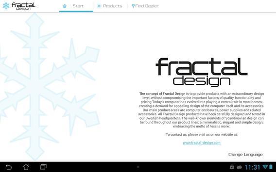 FRACTAL DESIGN poster
