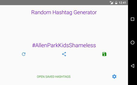 Random Hashtag Generator screenshot 7