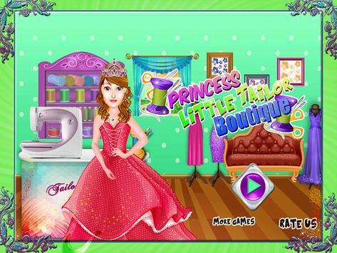 Princess Little Tailor Boutique poster