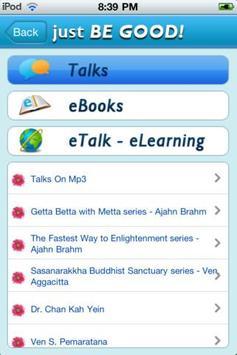 Just Be Good Buddhist apk screenshot