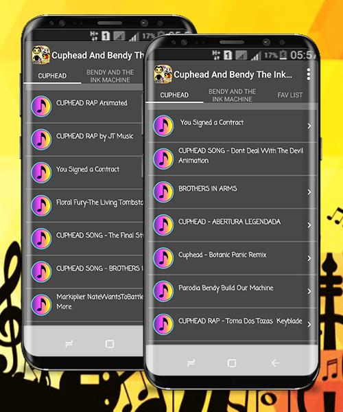 Cuphead & Bendy And The Ink Machine song para Android - APK