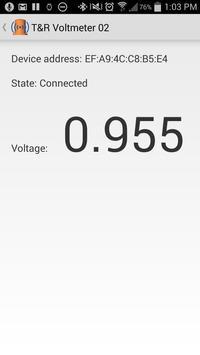 T&R CP Voltmeter screenshot 1